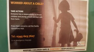 Safeguaring Worried about a child